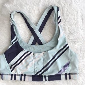 Lululemon Sports Bra- Blue- Size 8